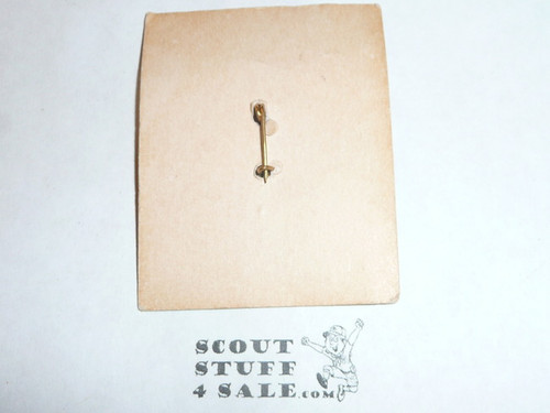 Boy Scouts of America THANKS Pin, New on Card, crude clasp