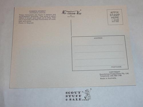 1987-88 World Jamboree Post Card, Sub Camp 3 Post card