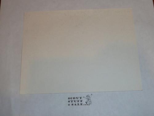1987-88 World Jamboree Post Card, unknown purpose
