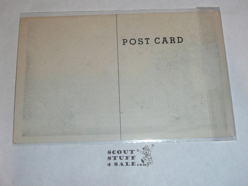Piedmont Boy Scout Camp Patrol Cabins Post card, 1950