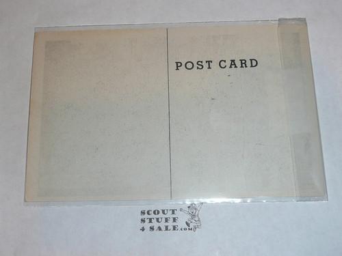 Piedmont Boy Scout Camp Flag Ceremony Post card #2, 1950