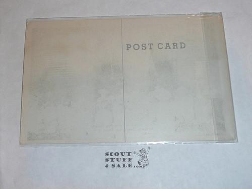 Piedmont Boy Scout Camp Kistler Memorial Camp Post card, 1950