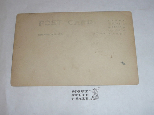 Photograph Boy Scout Troop Post card, 1920's