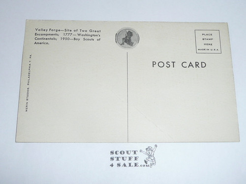1950 National Jamboree Postcard Campsite