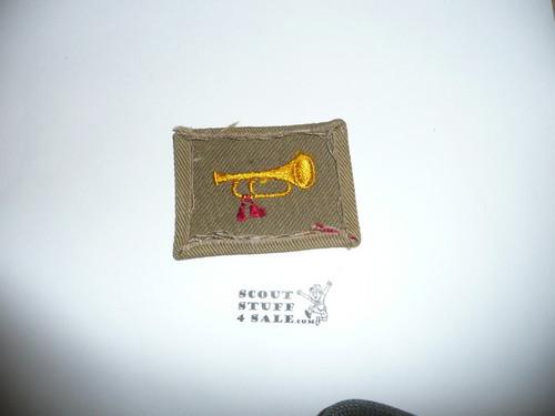 Bugler Patch - 1926 - 1942 - (B1) - Used