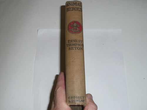 Animal Heros, By Ernest Thompson Seton, 1913, Every Boy's Library Edition, Type Two Binding #3