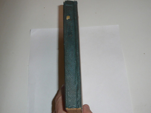 1909 Scouting for Boys, By Sir Robert Baden-Powell, Revised edition, second British Printing, cardboard covers