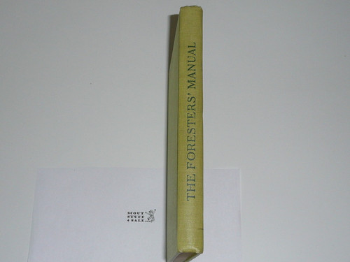"1912 Forester's Manual, ""Number 2 Of Scout Manual Series"", Hardbound, Very Good Condition, By Ernest Thompson Seton"