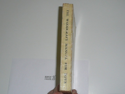 1917 The Woodcraft Manual for Boys of the Woodcraft League, Near Mint Condition, By Ernest Thompson Seton