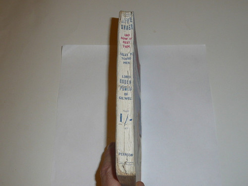 1939 Life's Snags and How to Meet Them, By Lord Baden-Powell, 5th printing