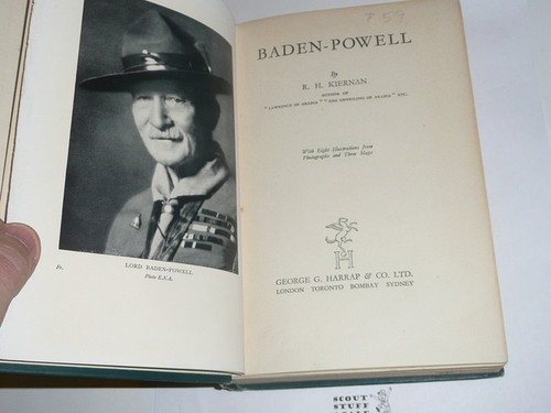 1939 Baden-Powell, By R.H. Kiernan, Second printing
