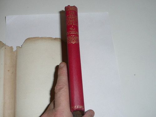 1913 Sir Robert Baden-Powell, By W.J Batchelder, First printing, with damaged dust jacket