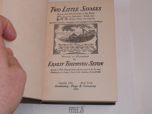 1923 Two Little Savages, By Ernest Thompson Seton