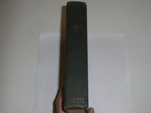 1922 The Book of Woodcraft and Indian Lore, By Ernest Thompson Seton, Library binding