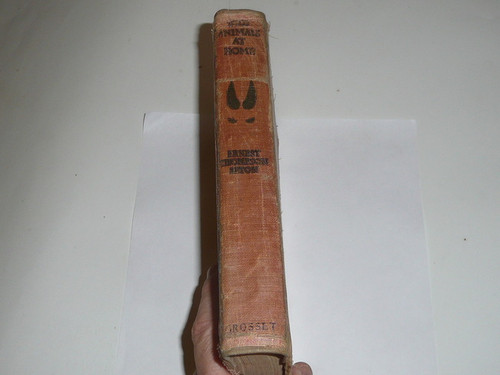 1913 Wild Animals at Home, By Ernest Thompson Seton, First printing, spine/binding repaired