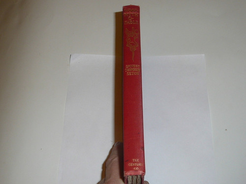 1905 Woodmyth & Fable, By Ernest Thompson Seton, First printing