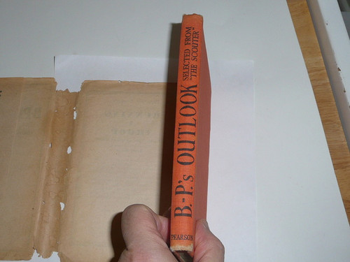 1941 B-P's Outlook, Selected from the Scouter Magazine, First printing, with dust jacket, Great Britain