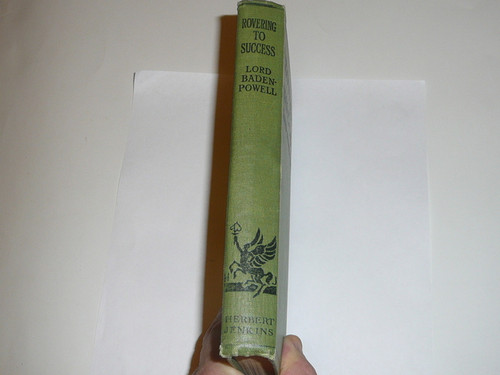 1930 Rovering to Success, By Lord Baden-Powell, Eighth Printing