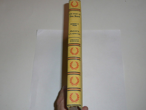 1958 The Story of Dan Beard, By Robert Webb, First printing, water damage