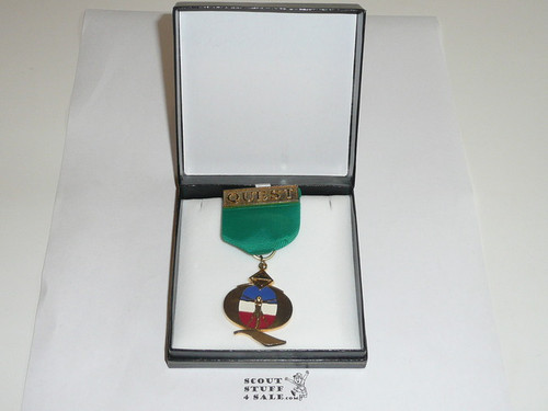 Venturing Quest Award, In Presentation Box