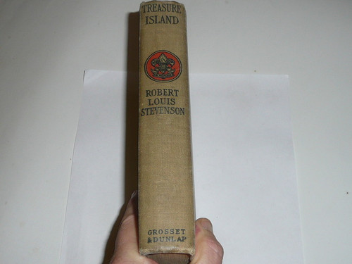 Treasure Island, By Robert Louis Stevenson, 1913, Every Boy's Library Edition, Type Two Binding #2
