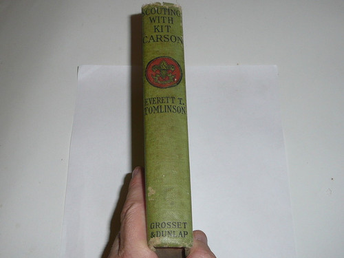 Scouting With Kit Carson, Everett T. Tomlinson, 1916, Every Boy's Library Edition, Type Two Binding #2