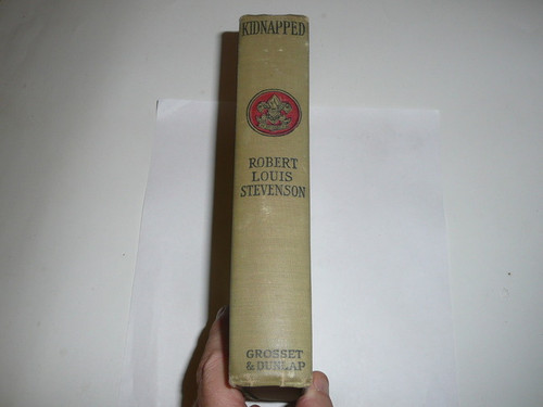 Kidnapped, By Robert Louis Stevenson, 1913, Every Boy's Library Edition, Type Two Binding, in great condition
