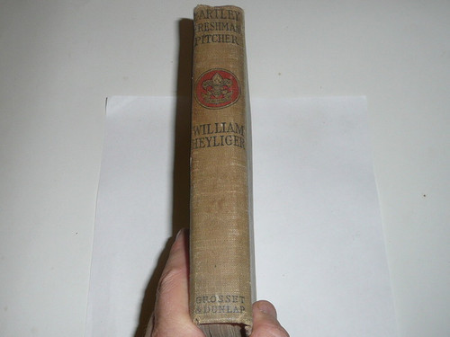 Bartley Freshman Pitcher, By William Heyliger, 1913, Every Boy's Library Edition, Type Two Binding