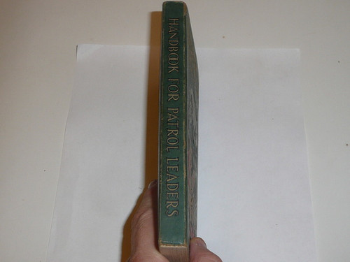1933 Handbook For Patrol Leaders, First Edition, Fourth Printing, Near MINT Condition, Signed by William Hillcourt (the author)