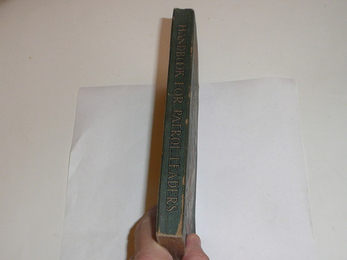 1929 Handbook For Patrol Leaders, First Edition, Second Printing, Near MINT Condition
