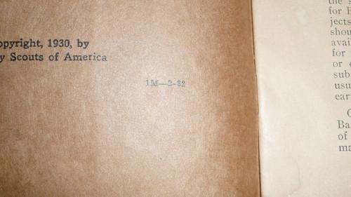 Carpentry Merit Badge Pamphlet, Type 3, Tan Cover, 2-32 Printing