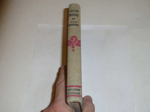 1956 How Book of Cubbing, Cub Scout, 7-56 Printing