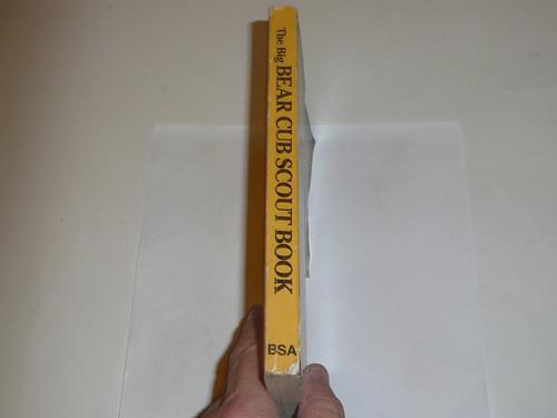1985 Bear Cub Scout Handbook, 5-85 Printing, used