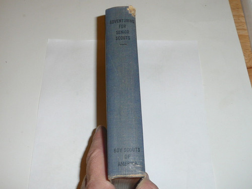 1939 Adventuring for Senior Scouts, First Edition, 1939 Printing