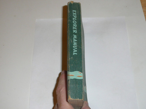 1957 Explorer Scout Manual, First Edition, 1957 Printing, used