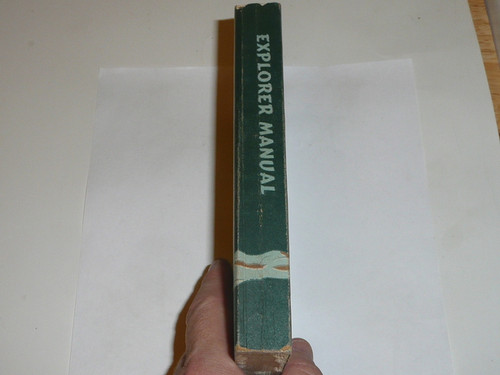 1956 Explorer Scout Manual, First Edition, 1956 Printing 18307