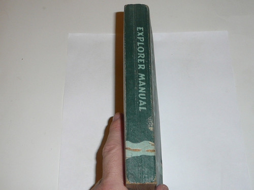 1953 Explorer Scout Manual, First Edition, 1953 Printing, lt use