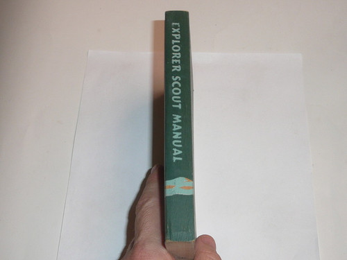1947 Explorer Scout Manual, First Edition, 1947 Printing