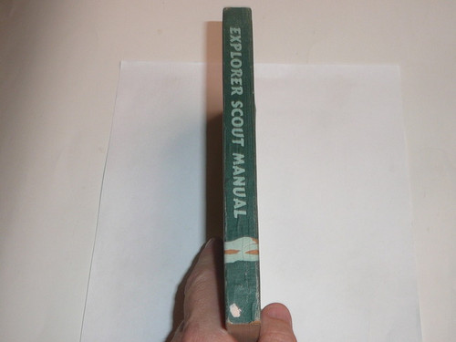 1946 Explorer Scout Manual, First Edition, First Printing