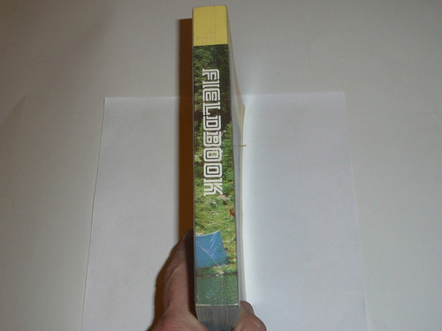 1975 Boy Scout Field Book, Second Edition, January 1975 Printing, MINT condition