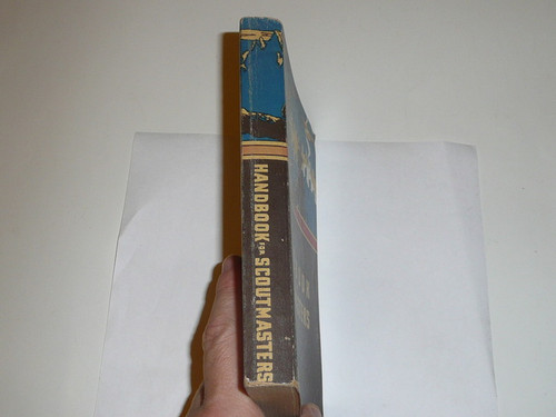 1954 Handbook For Scoutmasters, Fourth Edition, Eighth Printing, Very good Condition