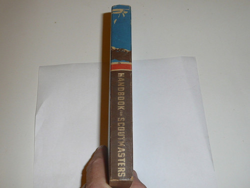 1948 Handbook For Scoutmasters, Fourth Edition, Third Printing (10-48), Very Good used Condition
