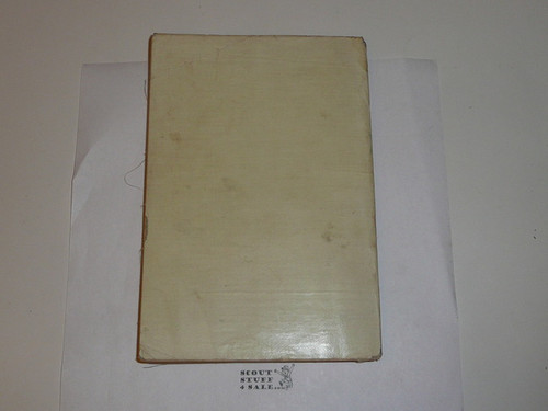 1912 Handbook For Scout Masters, Proof Edition, Linen Cover, 161 pages, near MINT Condition #3