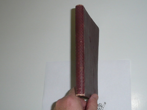 1913 Handbook for Scout Masters, Proof Edition, Leather Bound, MINT Condition, 344 pages