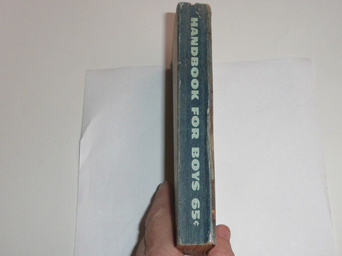 1950 Boy Scout Handbook, Fifth Edition, Third Printing, Used condition