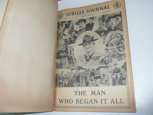 1957 World Jamboree Complete Bound Set of the Jamboree Journal Newspaper