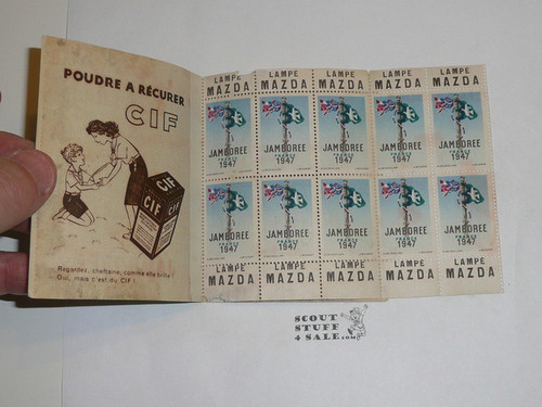 1947 World Jamboree Book of Stamps