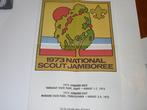 1973 National Jamboree Promotional Brochure