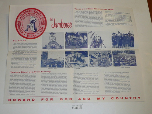 1957 National Jamboree Promotional Brochure 17801