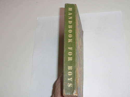 1948 Boy Scout Handbook, Fifth Edition, First Printing, Don Ross Cover Artwork, very good condition, two stars on last page
